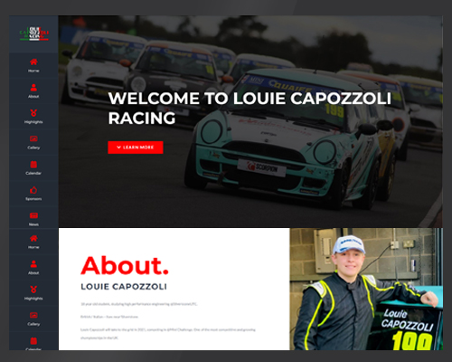 Louie Capozzoli sponsorship by BWSIT Limited