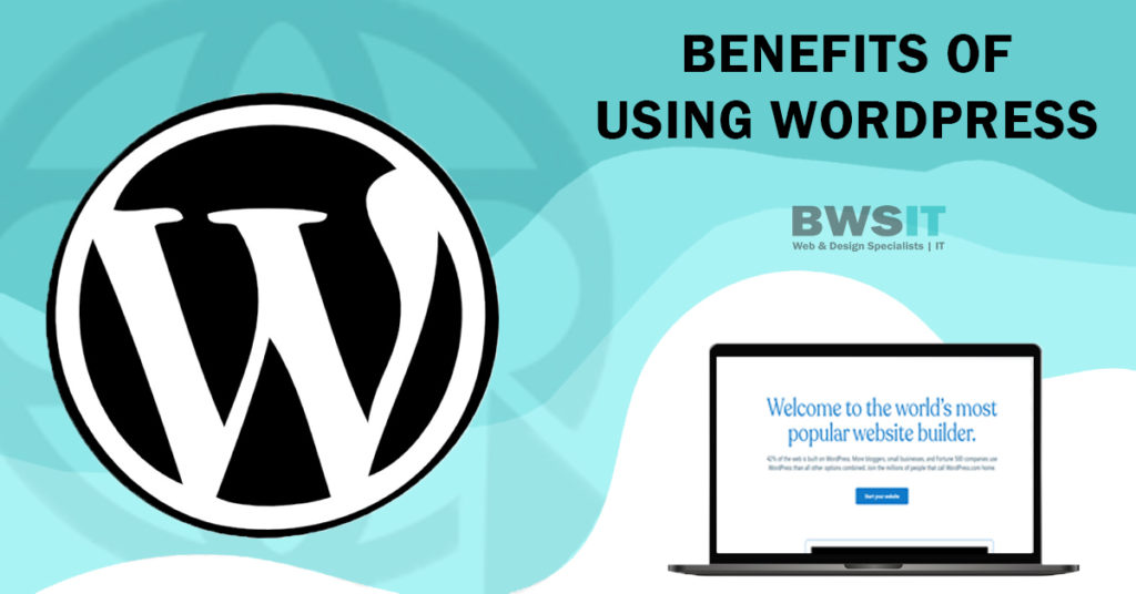 Benefits of WordPress and why this is the chosen BWSIT Web platform