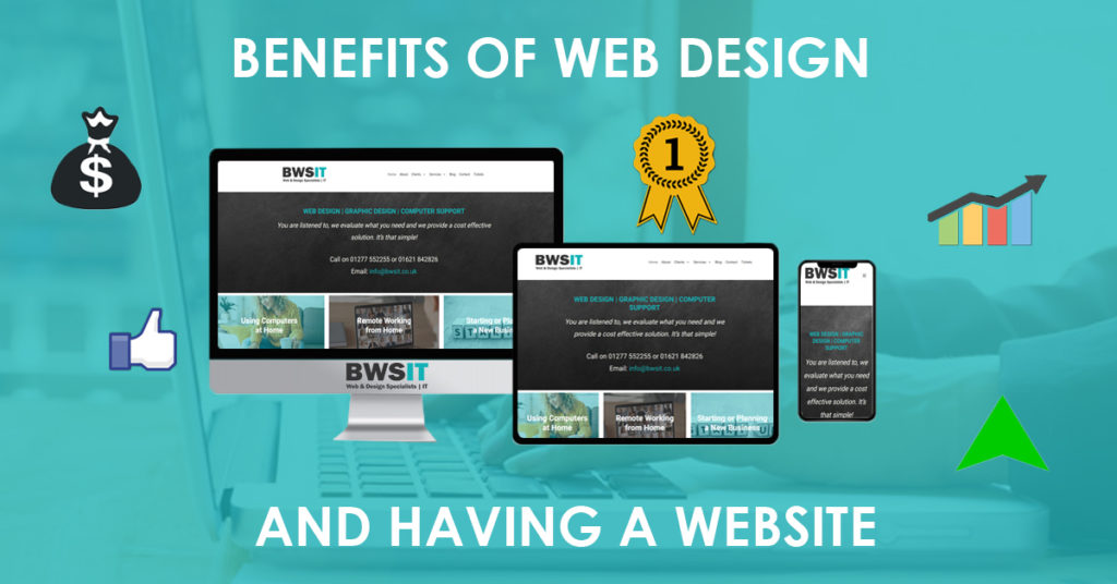 The benefits of web design and having a website