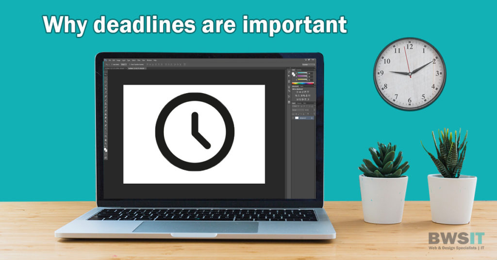 Why web design project deadlines are important